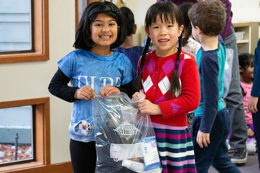 Kindergarten Ambassadors Create Comfort Kits to Help Others in Need